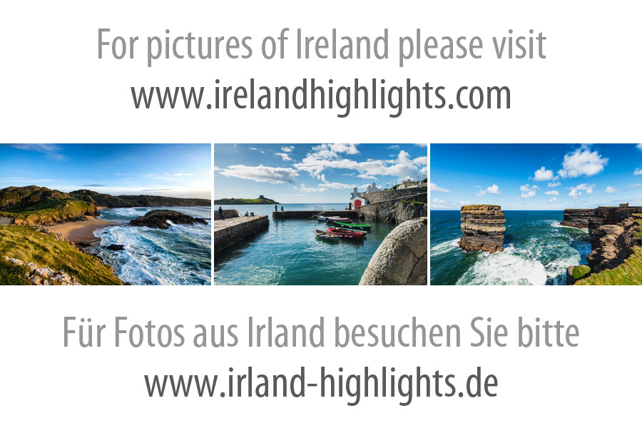 Tower Bay Beach And Lambay Island Ireland Highlights